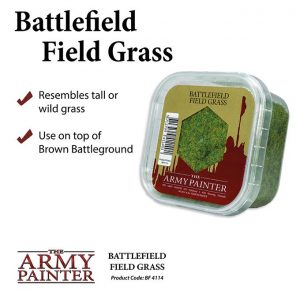 The Army Painter   Sand & Flock Battlefields: Field Grass - APBF4114 - 5713799411401