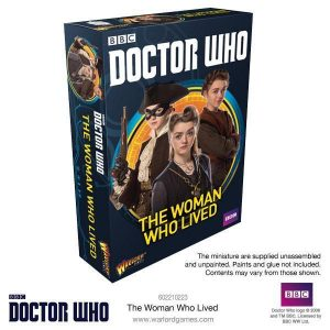 Warlord Games Doctor Who  Doctor Who Doctor Who: The Woman Who Lived - 602210223 - 5060393707479