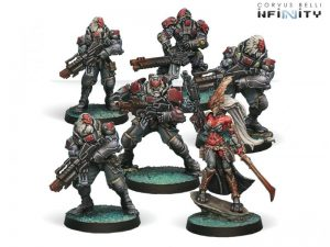 Corvus Belli Infinity  Combined Army Morat Aggression Forces, Combined Army Sectoral Starter - 280658-0453 - 2806580004531