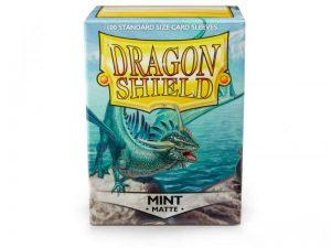 Dragon Shield   Dragon Shield Dragon Shield Sleeves Matte Mint (100) - DS100MM - 5706569110253