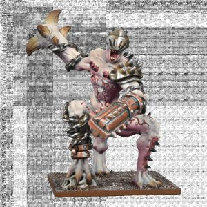 Mantic Kings of War  Abyssal Dwarves Abyssal Dwarf Grotesque Champion - MGKWK201 - 5060469665245