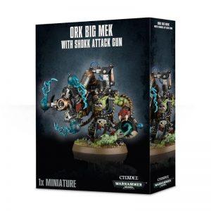 Games Workshop (Direct) Warhammer 40,000  Orks Big Mek with Shokk Attack Gun - 99120103031 - 5011921050765
