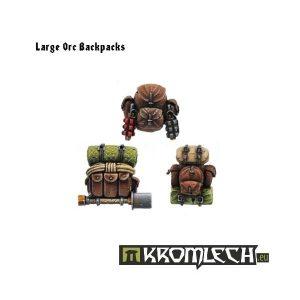 Kromlech   Orc Conversion Parts Large Orc Backpacks (6) - KRCB017 - 5902216110151
