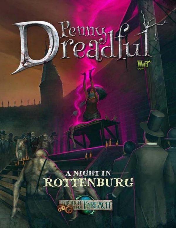 Wyrd Through the Breach  Through the Breach A Night in Rottenburg - WYR30203 - 9780990589662