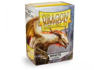 Dragon Shield   Dragon Shield Dragon Shield Sleeves White (100) - DS100W -