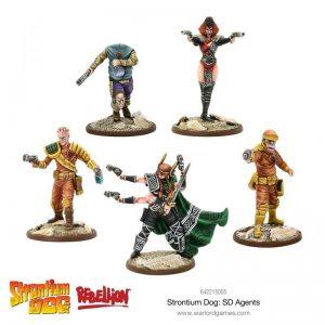 Warlord Games Strontium Dog  Strontium Dog Strontium Dog: SD Agents - 642215005 - 5060572500846