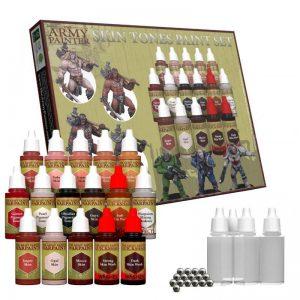 The Army Painter   Paint Sets Warpaint Skin Tones Paint Set - APWP8909 - 5713799890909