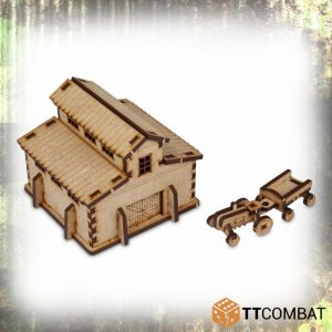 TTCombat   World War Scenics 15mm Barn - TTSCW-WAR-009 -