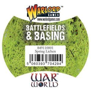 Warlord Games   Lichen & Foliage Warlord Scenics: Spring Lichen - 849110001 - 5060393704294