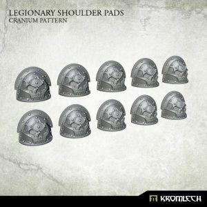 Kromlech   Legionary Conversion Parts Legionary Shoulder Pads: Cranium Pattern (10) - KRCB228 - 5902216117549