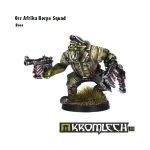 Kromlech   Orc Model Kits Orc Afrika Korps Squad Leader - KRM058 - 5902216111813