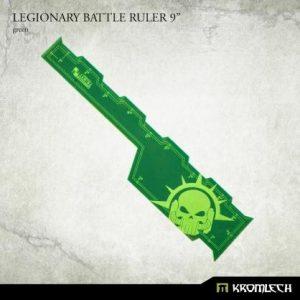 Kromlech   Tapes & Measuring Sticks Legionary Battle Ruler 9in [green] - KRGA084 - 5902216119673