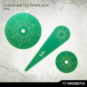 Kromlech   Templates Chaos Battle Templates [green] - KRGA039 - 5902216114340