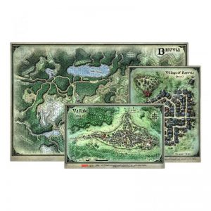 Gale Force Nine Dungeons & Dragons  D&D Game Mats D&D: Curse of Strahd - Map Set - GFN72803 - 9420020251991