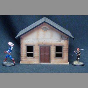 TTCombat   Wild West Scenics (28-32mm) Townhouse - WWS033 -
