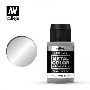 Vallejo   Metal Colour Metal Color - Chrome 32ml - VAL77707 - 8429551777070