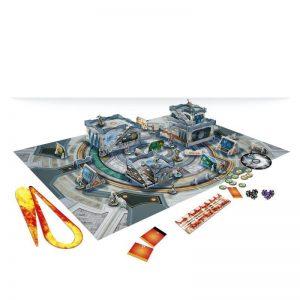 Corvus Belli Infinity  Infinity Essentials Sálvora Governmental Complex Scenery Pack - 285062 - 2850620000007