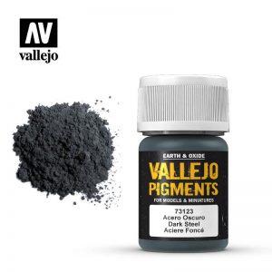 Vallejo   Pigments Vallejo Pigment - Dark Steel - VAL73123 - 8429551731232