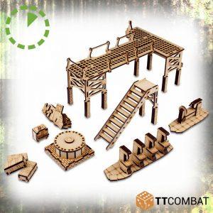 TTCombat   World War Scenics Warehouse Machinery - TTSCW-WAR-060 - 5060570137884