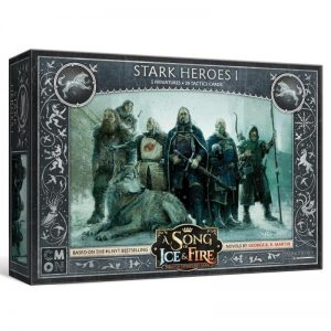 Cool Mini or Not A Song of Ice and Fire  House Stark A Song of Ice and Fire: Stark Heroes #1 - CMNSIF109 - 889696005649