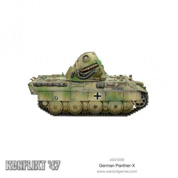 Warlord Games Konflikt '47  SALE! Konflikt '47: German Panther-X - 452410209 - 5060572500518