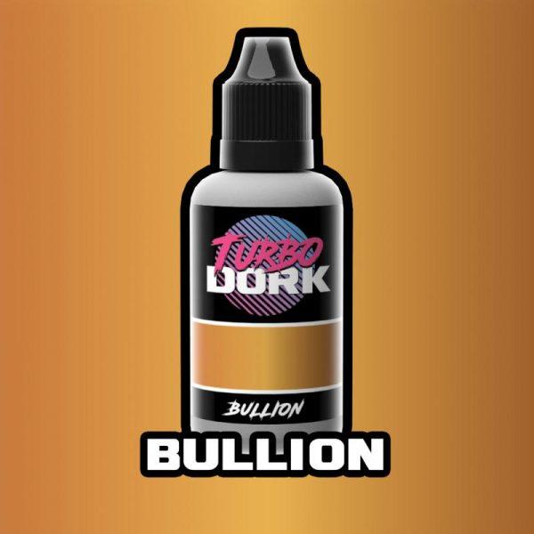 Turbo Dork   Turbo Dork Bullion Metallic Acrylic Paint 20ml Bottle - TDBULMTA20 - 631145995052