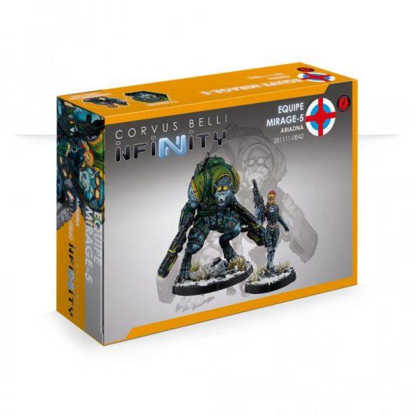 Corvus Belli Infinity  Ariadna Ariadna Equipe Mirage-5 - 281111-0842 - 2811110008422
