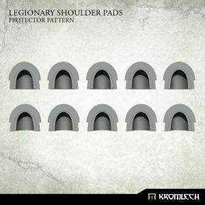Kromlech   Legionary Conversion Parts Legionary Shoulder Pads: Protector Pattern (10) - KRCB225 - 5902216117389