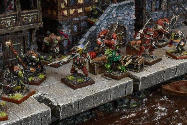 Mantic Kings of War  Forces of Nature Salamander Regiment - MGKWN301 - 5060208869644