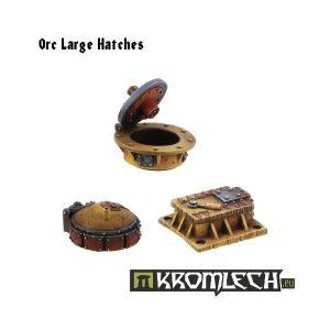 Kromlech   Vehicles & Vehicle Parts Orc Large Hatches (3) - KRVB003 - 5902216111110