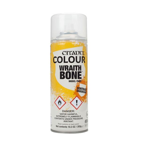 Games Workshop   Spray Paint GW Spray: Wraithbone - 99209999062 - 5011921154388