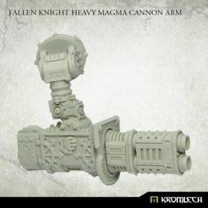 Kromlech   Heretic Legionary Conversion Parts Fallen Knight Heavy Magma Cannon Arm (1) - KRVB095 - 5902216119857