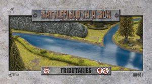 Gale Force Nine   Battlefield in a Box Battlefield in a Box: Tributaries - BB561 - 9420020223370