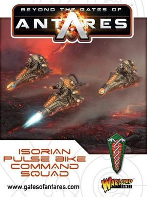 Warlord Games Beyond the Gates of Antares  SALE! Isorian Pulse Bike Command Squad - 502416003 - 5060393709398