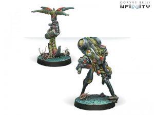 Corvus Belli Infinity  Combined Army Ikadron Batdroids & Imetron - 280650-0363 - 2806500003637