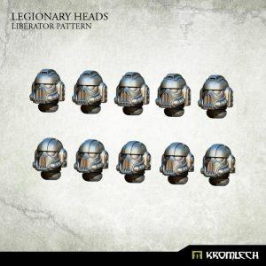 Kromlech   Legionary Conversion Parts Legionary Heads: Liberator Pattern (10) - KRCB207 - 5902216116115