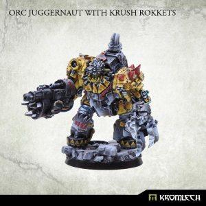 Kromlech   Orc Model Kits Orc Juggernaut with Krush Rokkets - KRM048 - 5902216111714