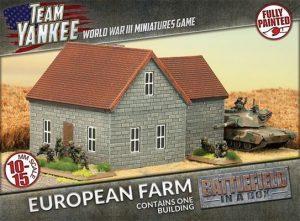 Gale Force Nine   Battlefield in a Box Team Yankee: European Farm - BB204 - 9420020231344
