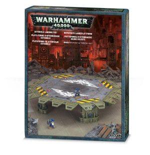 Games Workshop (Direct) Warhammer 40,000  40k Terrain Skyshield Landing Pad - 99120199016 - 5011921016013