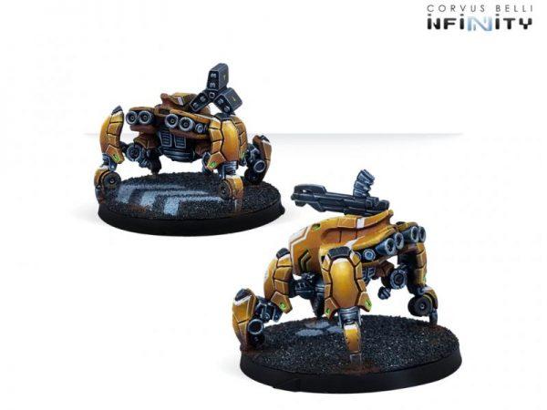 Corvus Belli Infinity  Yu Jing Yu Jing Yaokong Remotes Pack - 281315-0833 - 2813150008332