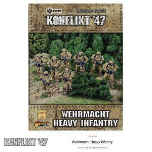 Warlord Games Konflikt '47  SALE! K'47 German Heavy Infantry - 452210201 - 5060393704287