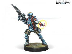 Corvus Belli Infinity  PanOceania Locust, Clandestine Action Team (Hacker) - 280294-0668 - 2802940006689