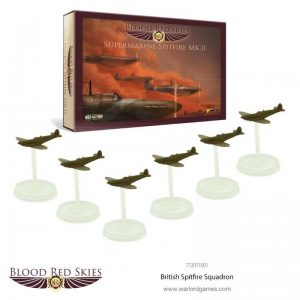 Warlord Games Blood Red Skies  Blood Red Skies Blood Red Skies: British Spitfire Squadron - 772011001 - 5060393707011