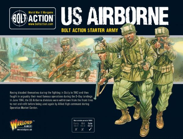 Warlord Games Bolt Action  United States of America (BA) US Airborne Starter Army - 409913114 - 5060572502338