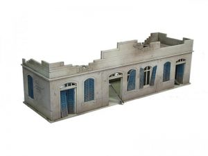 Warlord Games   Warlord Games Terrain Large Destroyed North Africa House - N118 - 5060572501423