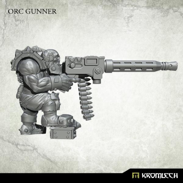Kromlech   Orc Model Kits Orc Gunner - KRM142 - 5902216117082