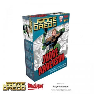 Warlord Games Judge Dredd  Judge Dredd Judge Dredd: Judge Anderson - 652410102 - 5060572503502