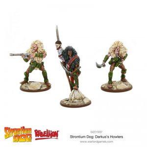 Warlord Games Strontium Dog  Strontium Dog Strontium Dog: Darkus' Howlers - 642215007 - 5060572500914