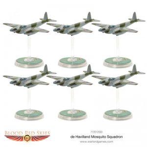 Warlord Games Blood Red Skies  Blood Red Skies Blood Red Skies: De Havilland Mosquito Squadron - 772012003 - 5060572501522
