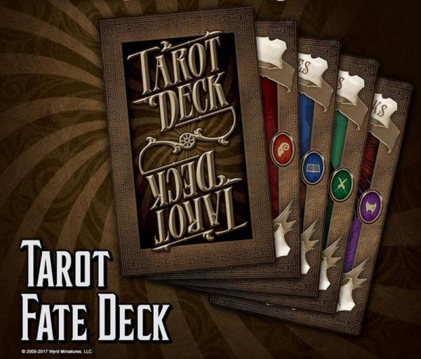 Wyrd Through the Breach  Malifaux Accessories Tarot Fate Deck - WYR30404 - 813856018804